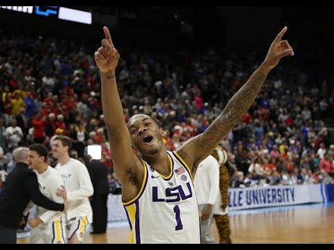Incredible final minutes of LSU's NCAA tournament win over Maryland