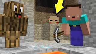 TWO NOOBS VS. MINECRAFT MURDERER...