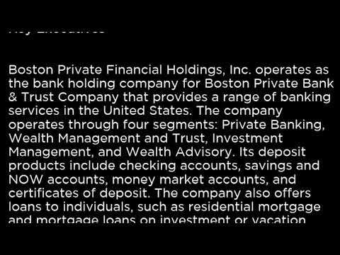 BPFH Boston Private Financial Holdings, Inc  BPFH buy or sell Buffett read basic