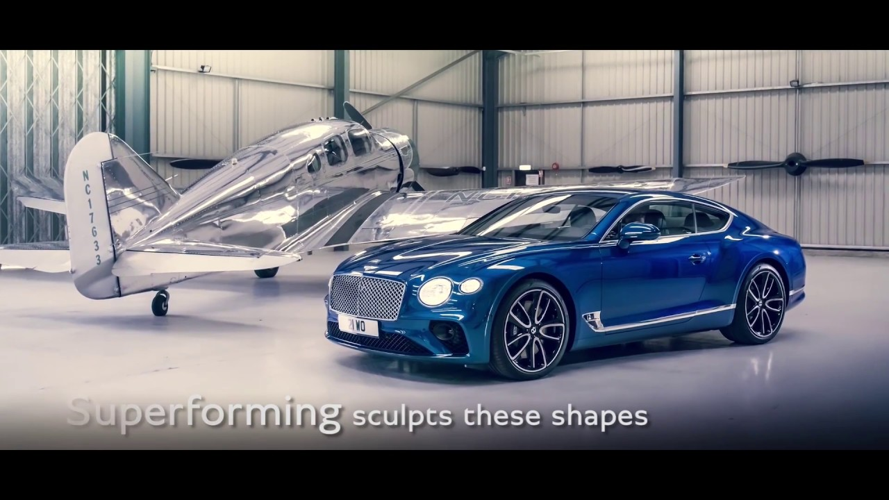 New Continental GT - the Design | New Bentley Continental GT - YouTube
