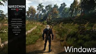 Steam Play Proton Witcher 3