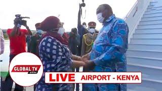 🔴#LIVE: RAIS SAMIA ALIVYOONDOKA KENYA KURUDI TANZANIA, RAIS KENYATTA AMUAGA..