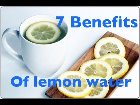 7 HEALTH BENEFITS of lemon water in the morning for your immune system & clear skin
