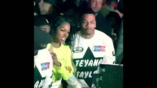 Teyana Taylor KTSE album release party produced by Kanye West (2018)