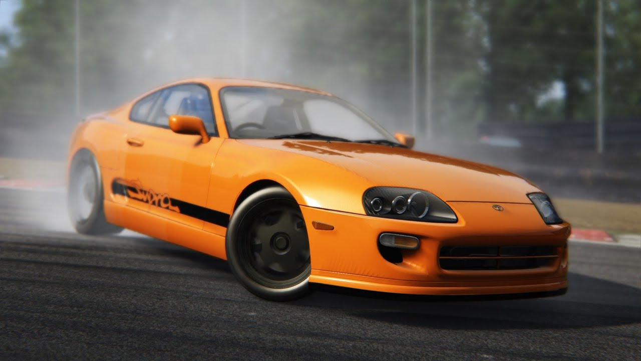 Assetto Corsa Drift Assetto Corsa 1 6 Toyota Supra Mkiv Drift Youtube