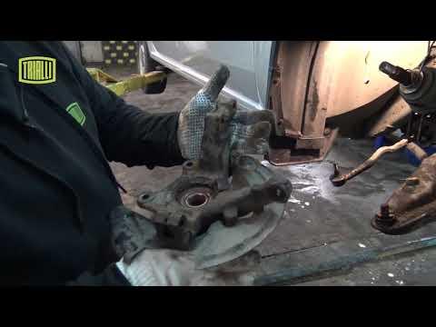 Renault Logan | Lada Largus - замена переднего ступичного подшипника / TRIALLI