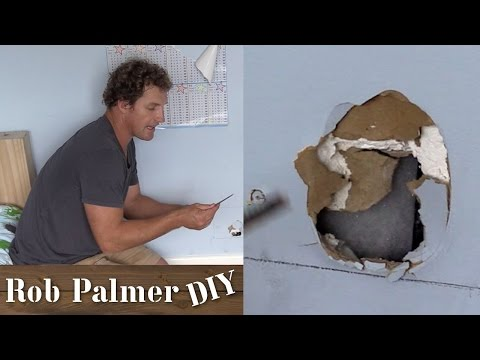 How to Fix a Hole In the Wall | DIY Tip