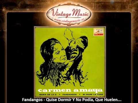 Carmen Amaya -- Fandangos - Quise Dormir Y No Podía, Que Huelen... (VintageMusic.es)