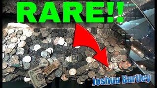 Amazing Rare find Inside Coin Pusher!!