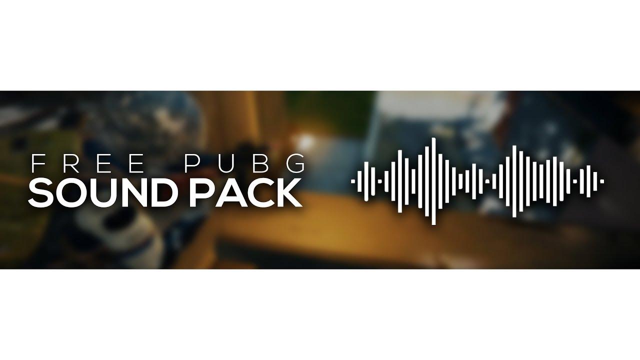 FREE PUBG SOUND PACK | ALL GUN SOUND EFFECTS DOWNLOAD