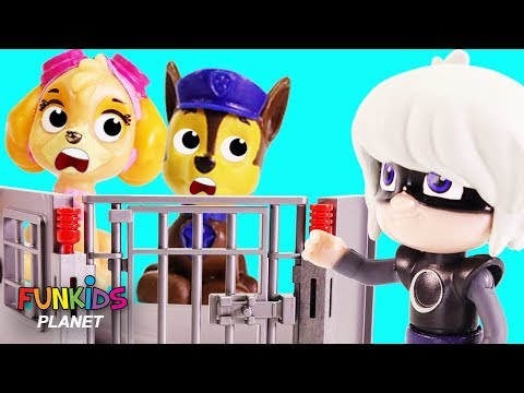 Paw Patrol Mission Rescue from Luna Girl & PJ Masks