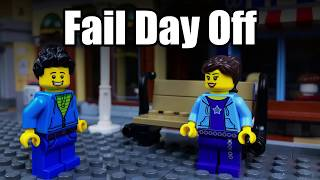 LOSER 🔴😖 LEGO Funy Animation