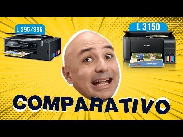 Epson L395 e L396 vs L3150 qual a diferença ?