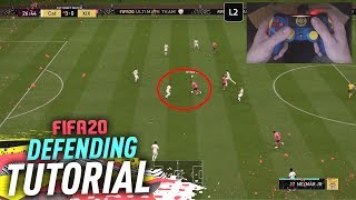 HOW TO DEFEND IN FIFA 20 - COMPLETE DEFENDING TUTORIAL
