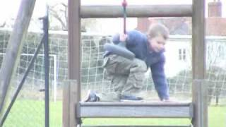 Just Harry playing in a local park!