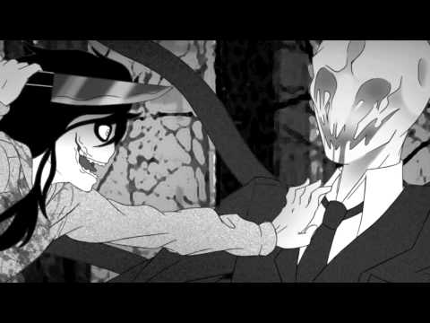 Slenderman vs Jeff the Killer l Skillet-Monster remix