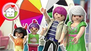 Playmobil Film Familie Hauser  Glücksrad entscheidet über Verkleidung  Kostüm  für Kinder