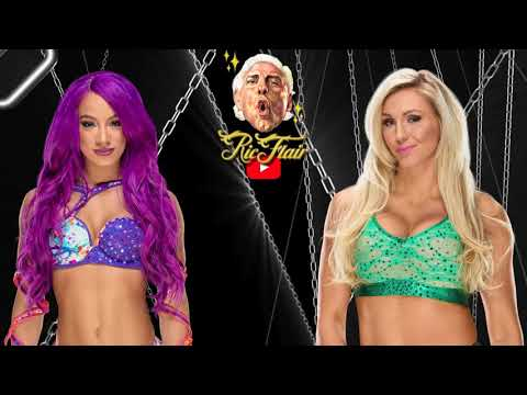 Ric Flair REVIEWS Sasha Banks vs Charlotte Flair Hell In A Cell match