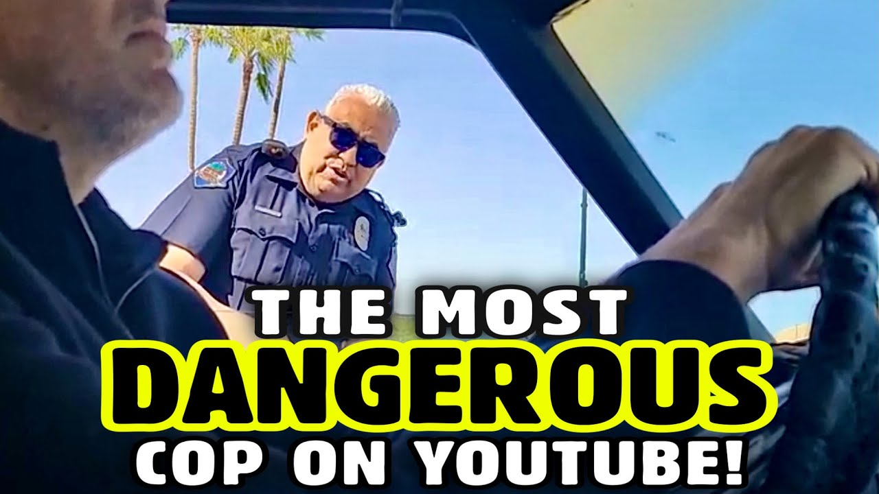 UNSTABLE POLICE OFFICERS MAKE UP THE RULES AS THEY GO • UNLAWFUL RETALIATION TRAFFIC STOP IN MESA AZ