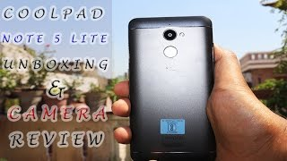 Coolpad Note 5 Lite Unboxing, Hands on, Camera, Features | TechnoBug