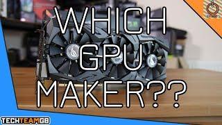 The Best Gpu Manufacturers