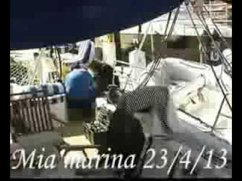 sailing TRANS ANTLANTIC MIAMI-GREECE part 1
