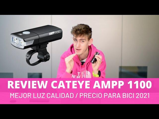 La MEJOR LUZ para ir en bici 2020 relación calidad/precio, REVIEW Cateye AMPP 1100