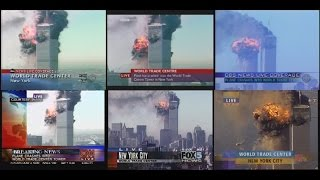 EXTENDED: Simultaneous TV Broadcasts from September 11, 2001
