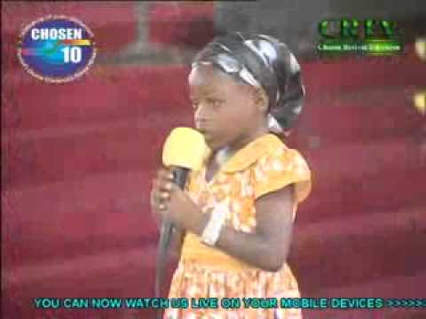Little Evangelist Success (4years) Of The Lord's Chosen Ministry