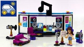 Лего Френдс поп звезда. Студия Звукозаписи 41103. Lego Friends Pop Star Recording Studio. Картонка