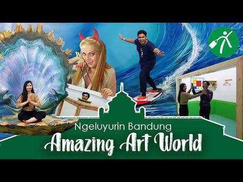 Keluyuran ke Museum 3D Keren, Amazing Art World Bandung