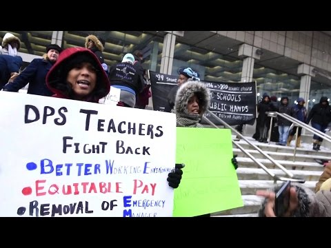 """Detroit Rocked by Teachers' """"Sickout"""" Protesting Dire Conditions Under Emergency Management"""