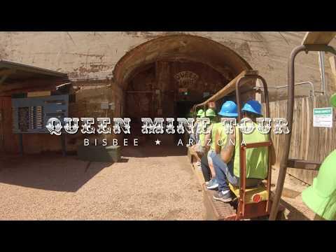 Queen Mine Tour In Bisbee, AZ (4K)