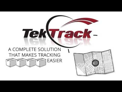TekTrack Package Tracking Software and App