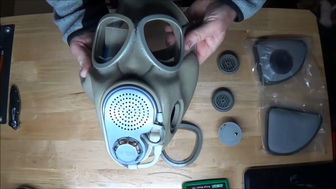 czech m10 gas mask filters