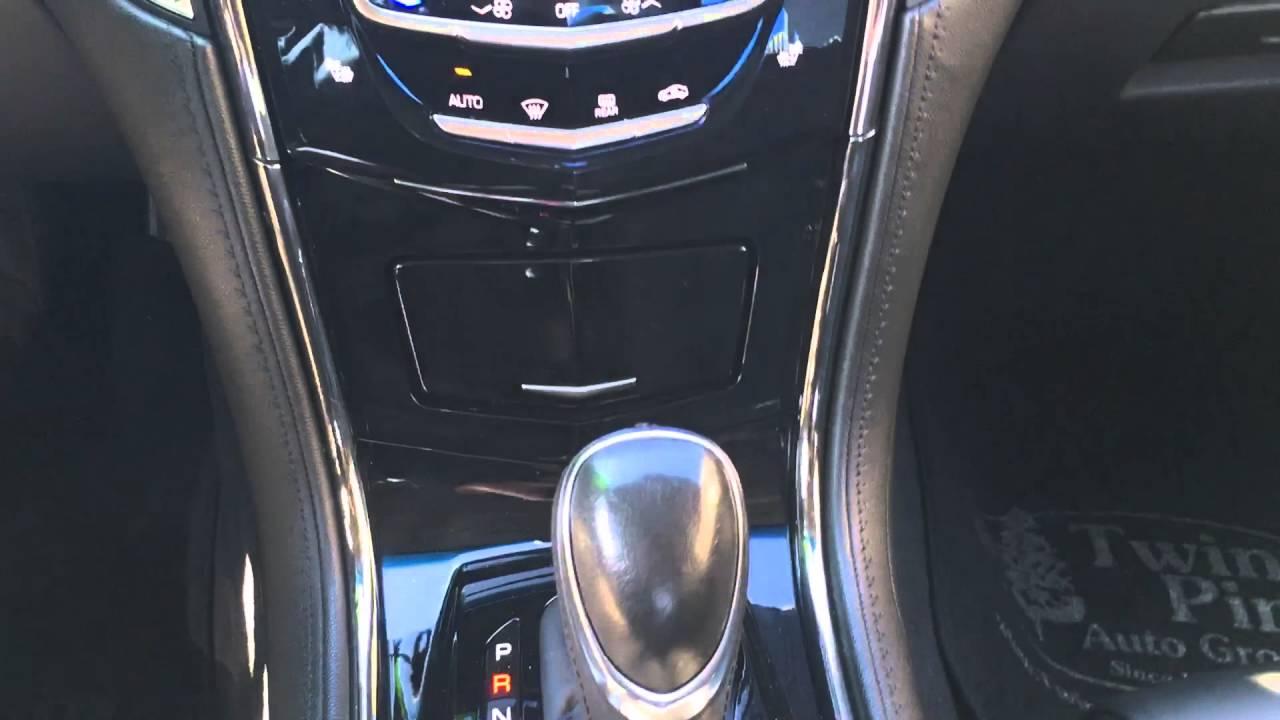 2016 Cadillac Srx >> How to access the USB port on a 2014 Cadillac ATS - YouTube