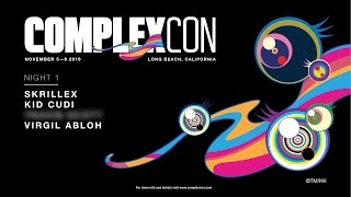 ANNOUNCEMENT: Skrillex, Kid Cudi, Virgil Abloh to Perform Night One of Our Inaugural ComplexCon