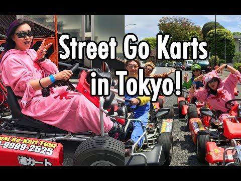 Yaya Han Vlog: MariCar Go Kart Drive through Tokyo!