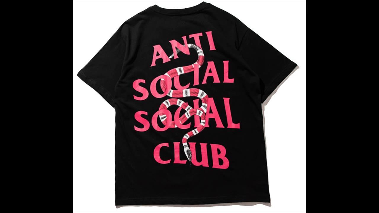f368cf1a07d New Arrival! ASSC Anti Social Social Club Snake T-Shirt - YouTube