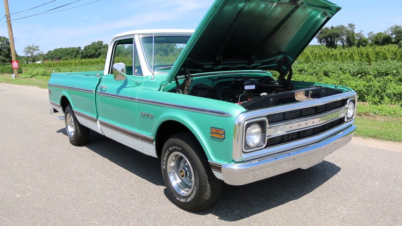 1970 Chevrolet C10 Cst Pickup For Sale Only 23 653 Miles Astounding