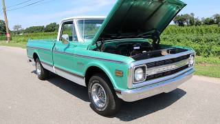 1970 Chevrolet C10 CST Pickup For Sale~Only 23,653 Miles!~Astounding, All-Original Condition!
