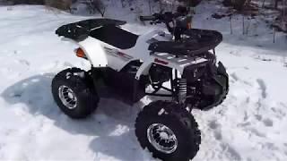 Новинка 2019 года. Подростковый квадроцикл Hummer 125