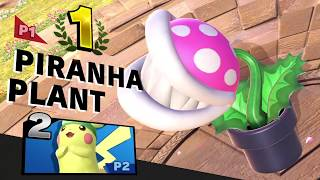 Super smash Bros Ultimate Piranha Plant  Online 1v1s