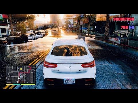 GTA 6 *NEW 2020* 4K REAL LIFE Graphics Gameplay - RTX 2080 Ti SLI Gaming PC - GTA V MOD