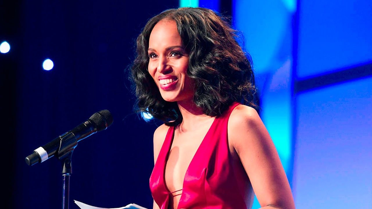 Kerry Washington Accepts the Vanguard Award at the #GLAADAWARDS