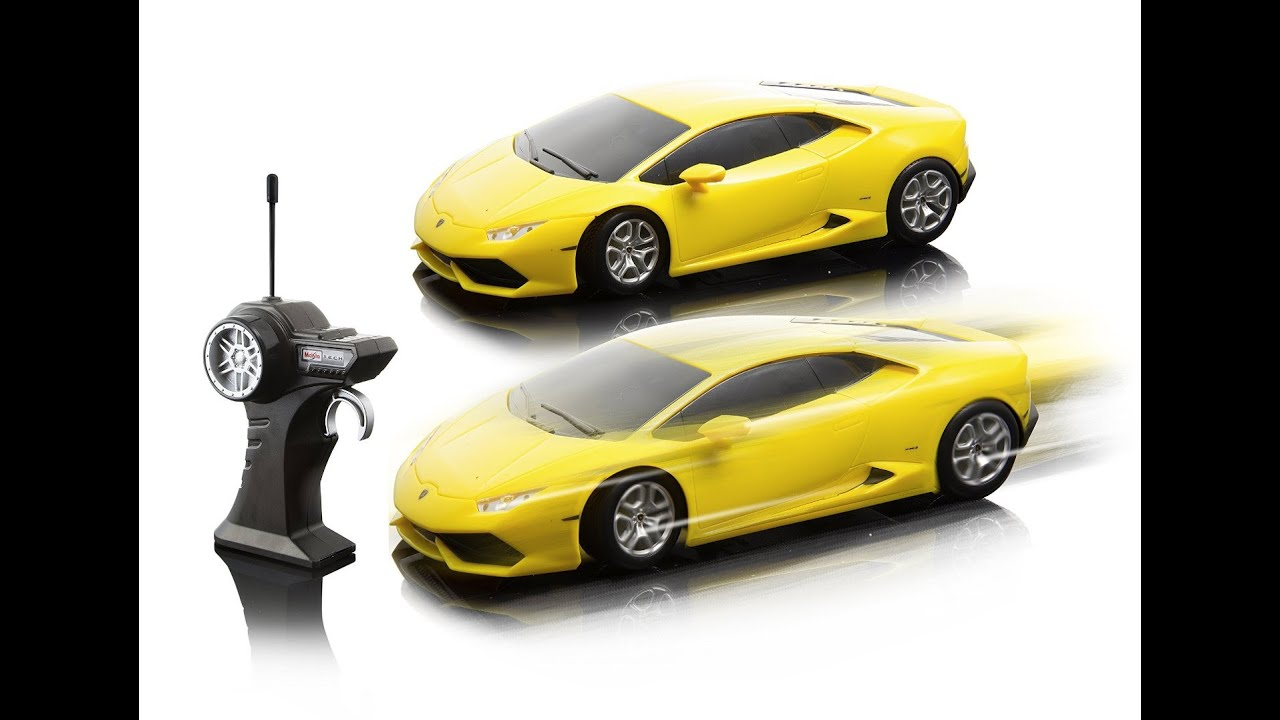 review maisto rc 124 scale lamborghini huracan radio control vehicle colors may vary youtube. Black Bedroom Furniture Sets. Home Design Ideas