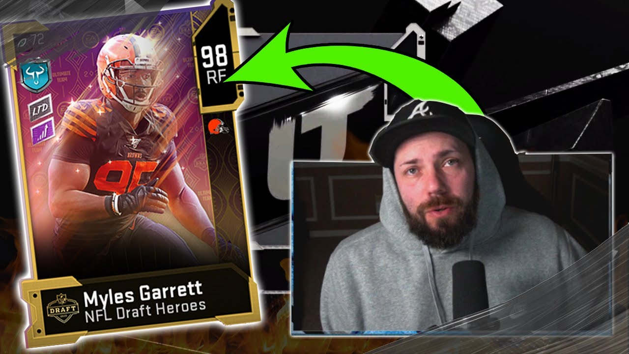 NFL DRAFT PROMO! GIVE ME ALL THE JUICE FOR A LIMITED EDITION! [MADDEN 20]