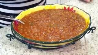 Kicked Up Baked Beans!