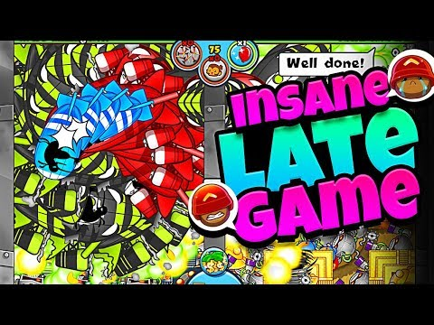HE Went LATE GAME With ME!! BLOONS TD BATTLES - MOLT