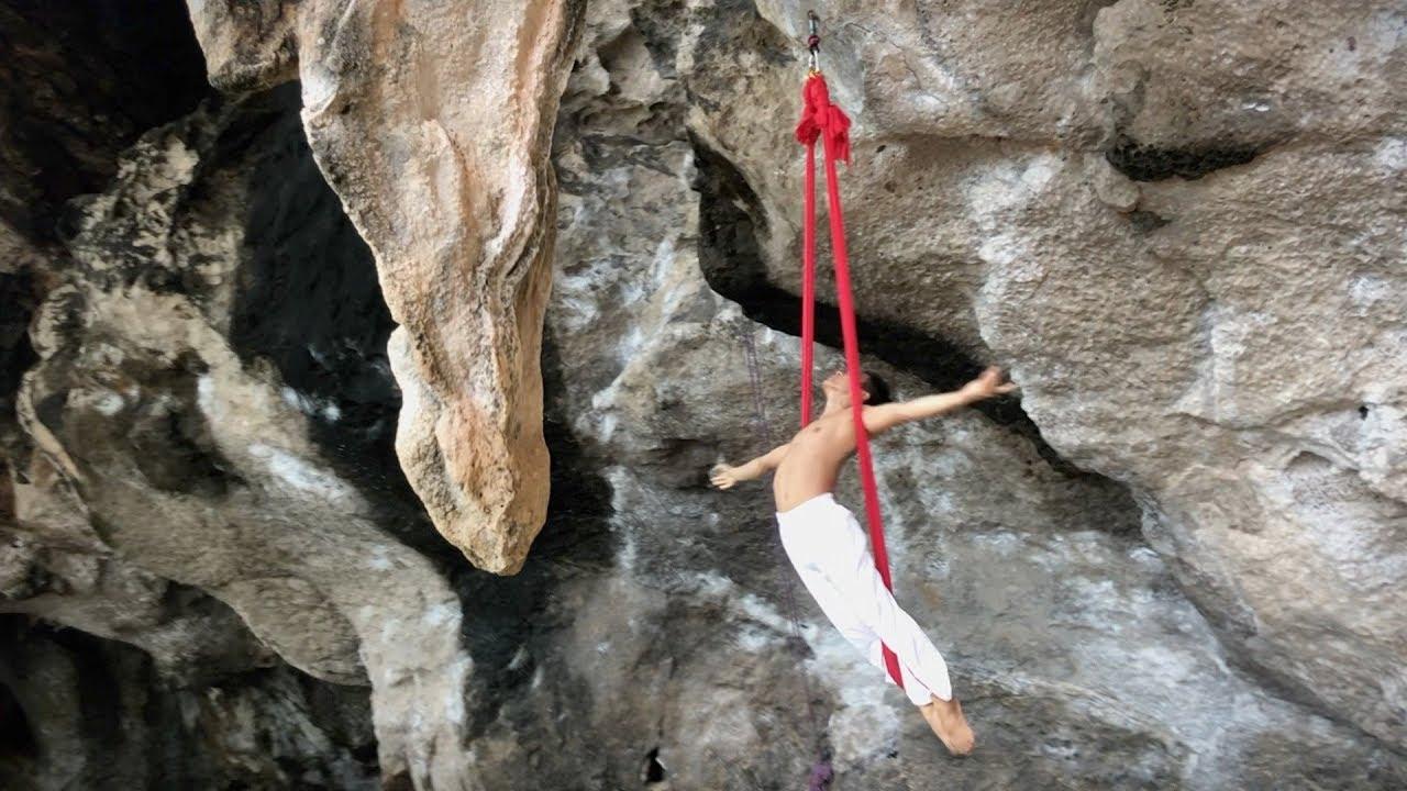 Aerial Dance Art - Railay, Krabi, Thailand